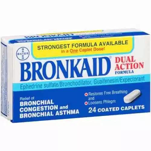 bronkaid ephedrine